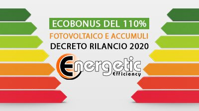 Ecobonus Fotovoltaico e Accumuli