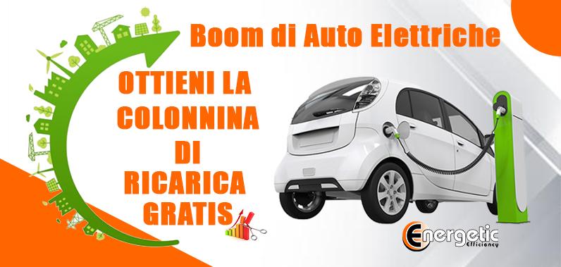 Boom di Auto Elettriche con l'Ecobonus – Ottieni Gratis la Colonnina di Ricarica.